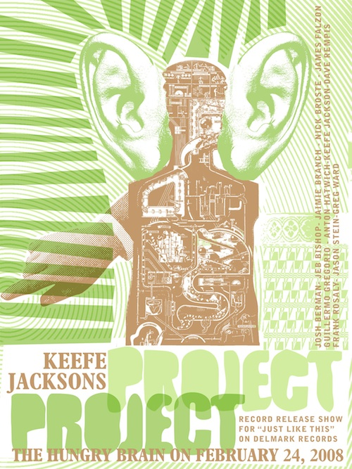Keefe Jackson's Project Project, Just Like This, Josh Berman, Jaimie Branch, Nick Broste, Jeb Bishop, Marc Unternaehrer, James Falzone, Guillermo Gregorio, Dave Rempis, Jason Stein, Anton Hatwich, Frank Rosaly